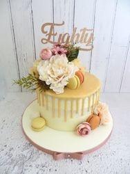 Eighty Drip Cake