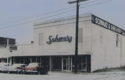 Schwarz and Sons Clothing Store in Hempstead