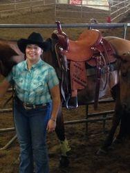 Angie's saddle
