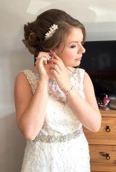 Elegant Updo Bridal Wedding Hair and Makeup Bury St Edmunds Suffolk