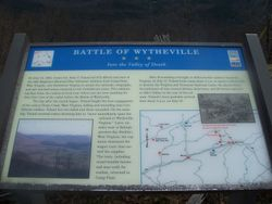 Battle of Wytheville - Into the Valley of Death