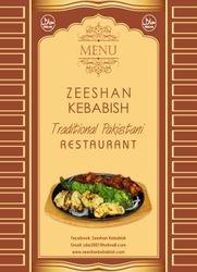 Zeeshan Kebabish Menu