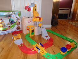 Little Tikes Big Adventures Construction Peak Rail And Road- BNIB - $70