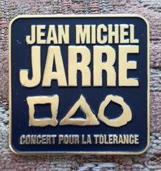 Concert Pour La Tolerance Pin