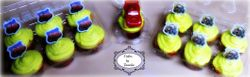 Cars Cup Cake