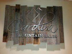 Metal Letters on Recycled Barn Wood