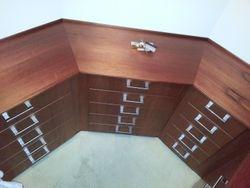 Cedar Walk-In Wardrobe drawers.