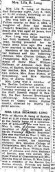 Long, Lila Brantner Hallman 1940