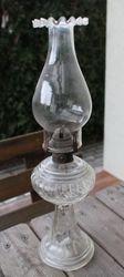 Stikline zibaline lempa. Kaina 57