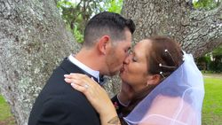 The Kiss-Mr. and Mrs. Diaz