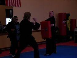 Kicking Drills at Test