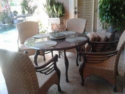 Finished Patio Furniture set 1