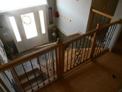 Custom handrail/gate