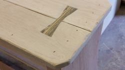 becote wood bowtie inlay