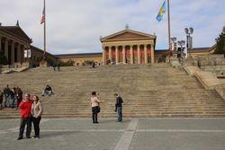 Philadelphia PA - Art Museum steps