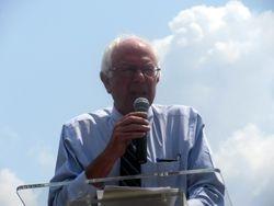 Senator Bernie Sanders at the Rally at 2015 NCIL Conference