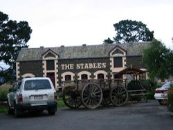 Clarkefield Inn. Macedon Ranges Victoria (the stables)