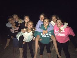 Troupe bonding on the Cape!
