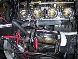 Installed shut-off valve