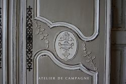 #22/079 Bridal Armoire Doors detail