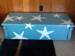 starfish cedar chest