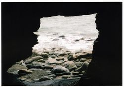 The caves, on the beach