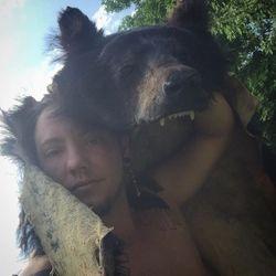 Black bear headdress photo 4