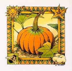 """Pumpkin """"tile"""""""