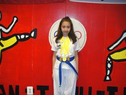 04-01-2012 Yong In Championship Ana Marie Gomez 1st pl Forms 1st pl Breaking 1st pl Fighting