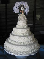 1960's Replica Wedding Cake