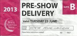 Royal Norfolk Show, Norwich