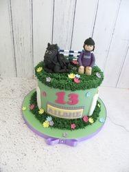 13th Birthday Horse Riding Cake