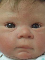 Closeup of face