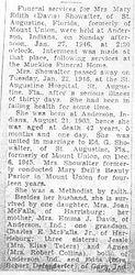 Showalter, Mary Davis 1946