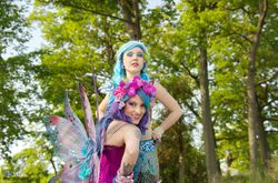 Lily the Fairy & Sirena the Mermaid