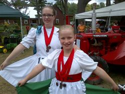 Willamstown Fair 2012 - Lots of medals!