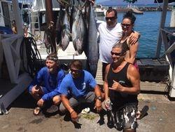 30 Tuna and 1 Ono