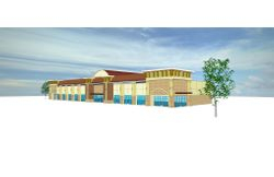 Hwy 20 retail center - concept