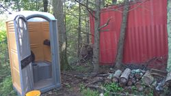 construction toilet