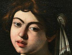 Caravaggio, Lutenist, Met
