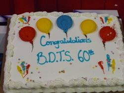 BDTS 60th anniversary