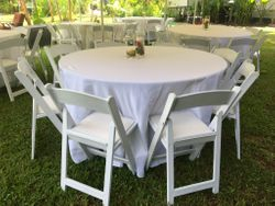"60"" Round Tables"
