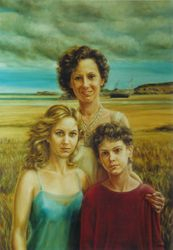 Giovanna and daughters