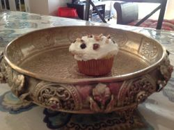 Tres Leches Cupcake with Whipped Cream Frosting