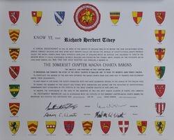 Magna Charta Baron