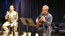 With Dan at NMS Recital, New Haven, 2016.