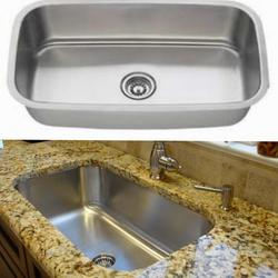 100 Stainless steel undermount sink