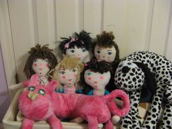 Weighted Dolls & Their Friends