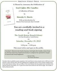 Dotty Morris Book Signing