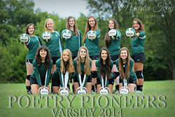 Varsity Volleball Girls!